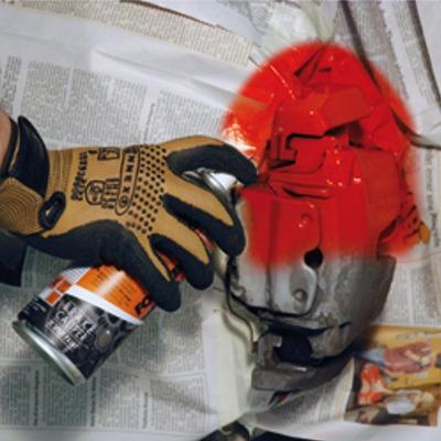 speedparts sweden red brake caliper spray paint. Black Bedroom Furniture Sets. Home Design Ideas